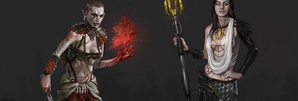 Арты Dragon Effect – герои Mass Effect в Dragon Age