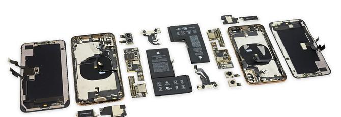 Вскрытие iPhone XS и XS Max показало минимум изменений