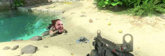 Post Malone орет на краба — странные ролики от игроков Call of Duty: Black Ops 4