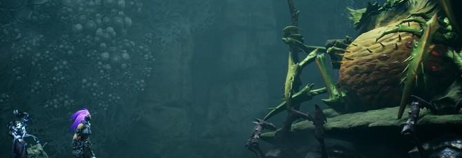 Битва с жуком-боссом в геймплейном ролике Darksiders III