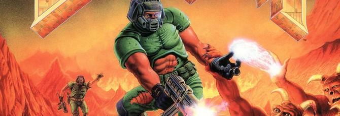 Нейросеть сделала Doom похожим на бокс-арт игры
