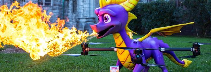 Snoop Dogg получит копию Spyro Reignited Trilogy при помощи огнедышащего дрона-дракона