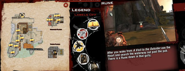 Интерактивная карта Dishonored для iOS и Android