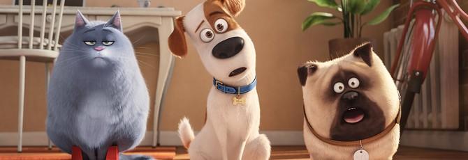 """Дебютный трейлер сиквела """"Тайной жизни домашних животных"""""""