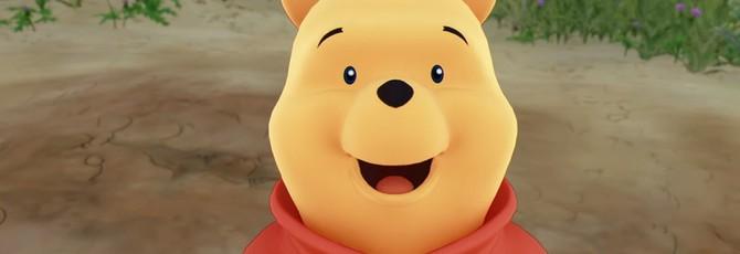 X018: Винни Пух в новом трейлере Kingdom Hearts 3