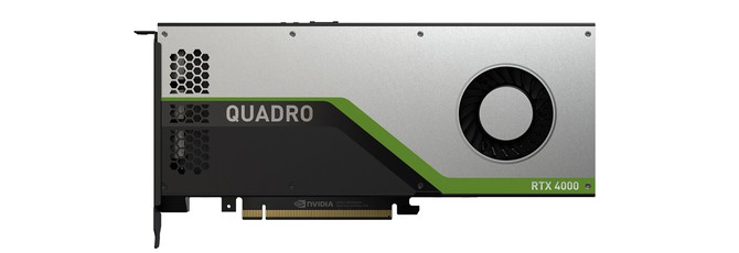 Nvidia представила рабочий GPU Quadro RTX 4000