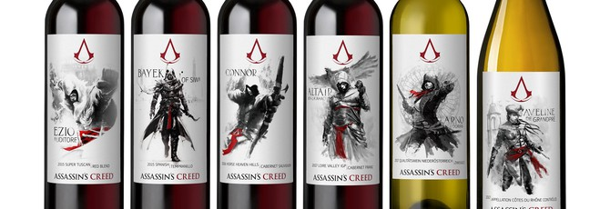В США можно купить коллекцию вин Assassin's Creed