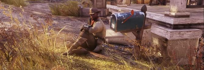 Игрок Fallout 76 исполнил роль Престона Гарви, помешанного на помощи поселениям