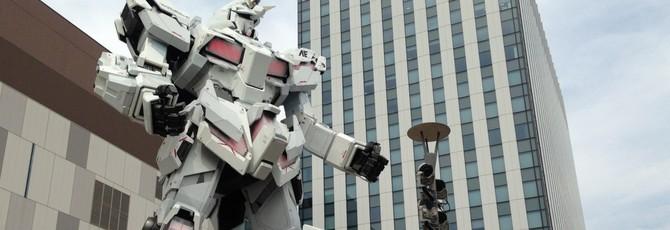 В Японии построят движущегося Гандама в натуральную величину