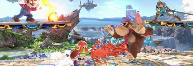 Nintendo показала распаковку Super Smash Bros. Ultimate