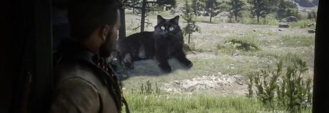 Red Dead Redemption 2 и самый опасный кот на свете