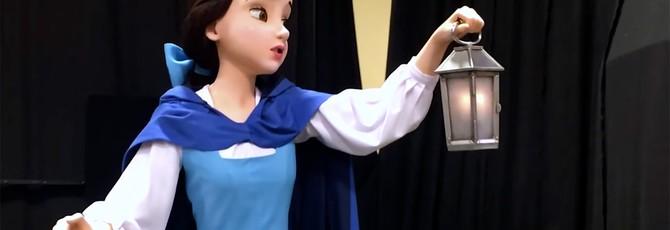 """Токийский Диснейленд получит роботов, неотличимых от персонажей """"Красавицы и Чудовища"""""""