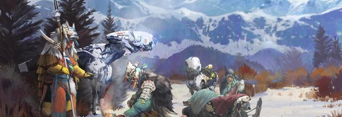 Концепты персонажей Horizon: Zero Dawn от художника из Guerrilla Games