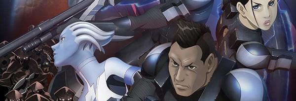 9 минут аниме Mass Effect: Paragon Lost