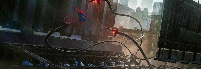 """Потрясающие концепты по мультфильму """"Человек-паук: Через вселенные"""""""