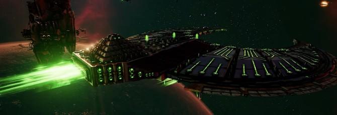 Новый трейлер Battlefleet Gothic: Armada 2 посвящен Некронам