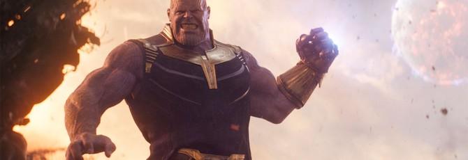 """Видео неиспользованной способности Таноса в """"Войне бесконечности"""""""