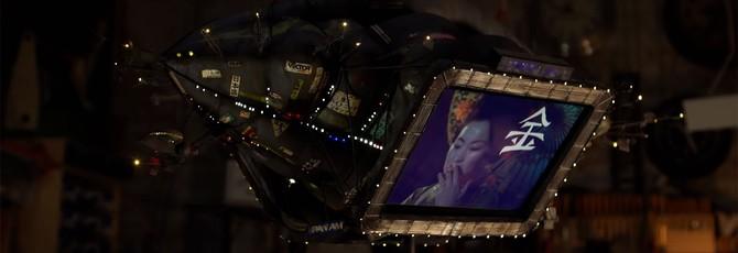 """Адам Сэвидж сделал миниатюрную версию дирижабля из """"Бегущего по лезвию"""""""