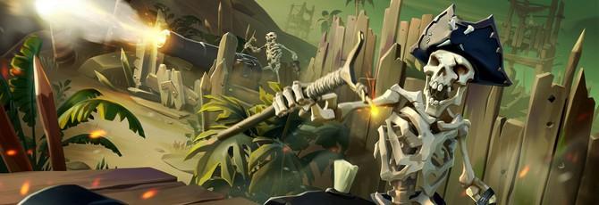 Новый апдейт Sea of Thieves вынудит переустанавливать игру