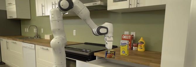 Nvidia показала робота, который может стать помощником на кухне
