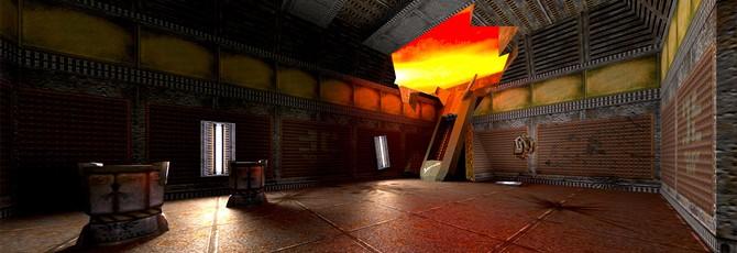 Мод позволяет запустить трассировку в Quake 2 на видеокартах Nvidia