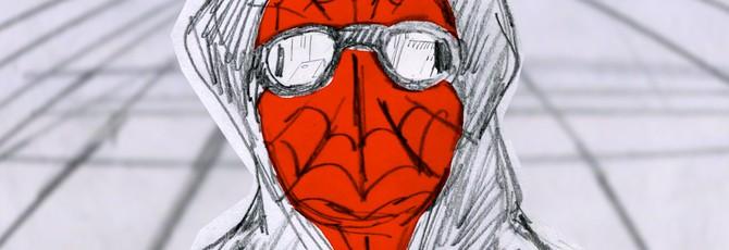"""Развитие стиля """"Человек-паук: Через вселенные"""" на раскадровках"""