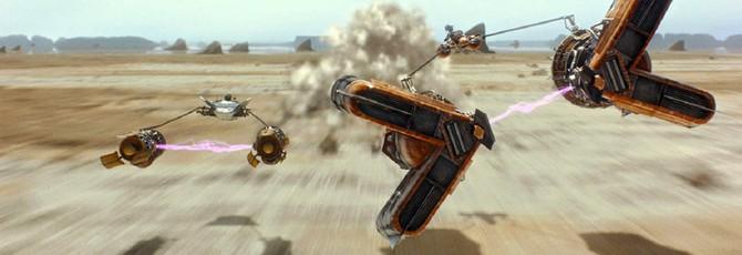 Так мог бы выглядеть ремейк Star Wars Episode 1: Racer на Unreal 4