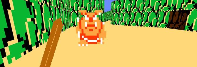 Моддер переделал классический Doom в The Legend of Zelda