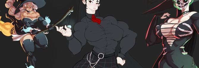 Иллюстратор и его мускулистые девушки