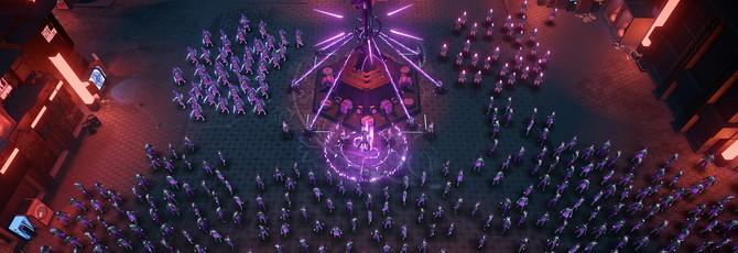 Релизный трейлер киберпанк-стратегии Re-Legion