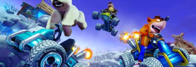 Очень много геймплея и скриншотов Crash Team Racing Nitro-Fueled