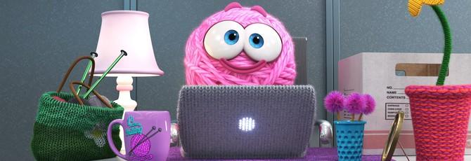Pixar выпустила короткометражку про розовый клубок шерсти
