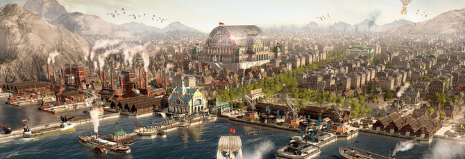 Ubisoft анонсировала открытую бету Anno 1800