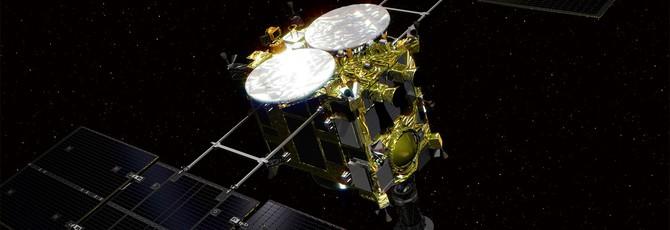 Японский аппарат Hayabusa 2 начнет бурение астероида 22 февраля