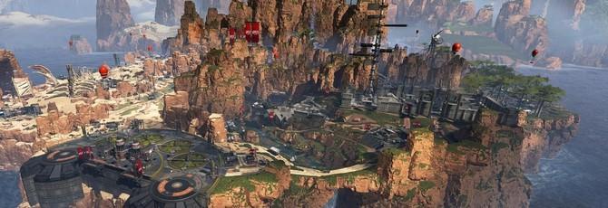 Интерактивная карта Apex Legends с маркерами снаряжения
