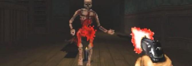 Моддер воссоздает Resident Evil 2 в Doom
