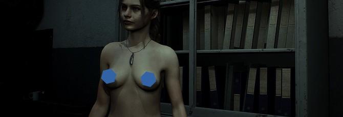 Вышел мод на полностью оголенную Клэр в ремейке Resident Evil 2
