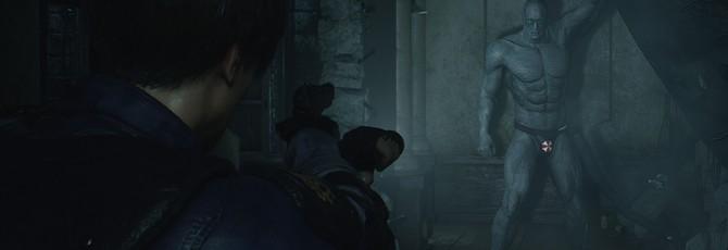 Тиран в плавках — новый обнаженный мод Resident Evil 2 Remake