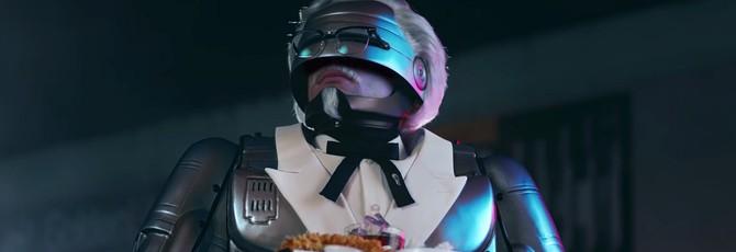 Полковник Сандерс стал Робокопом в рекламе KFC и спрятал рецепт курочки