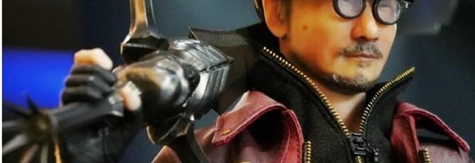 Konami может плакать — фигурка Хидео Кодзимы в образе Данте из Devil May Cry