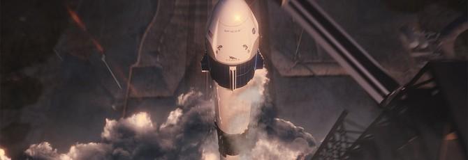 Прямой эфир с первого запуска капсулы Crew Dragon от SpaceX