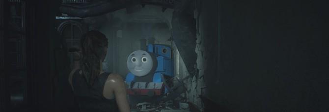 Мод Resident Evil 2 заменяет Тирана на Паровозика Томаса