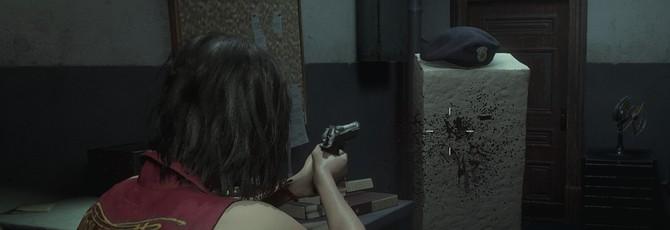 Зомби-тофу в новом моде Resident Evil 2