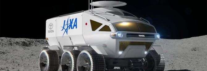 Toyota построит японский лунный ровер на двоих