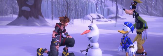Square Enix изменит голос Олафа в Kingdom Hearts 3 после ареста актера