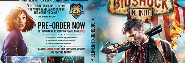 Бокс-арт Bioshock Infinite рассчитан на тех, кто не разбирается в играх