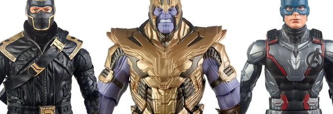 """Фигурки Marvel Legends демонстрируют внешний вид персонажей """"Мстители: Финал"""""""