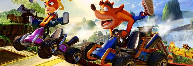 Crash Team Racing Nitro-Fueled получит турбо-ускорение в виде контента из Crash Nitro Kart