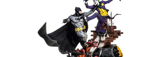 Эпичная диорама Бэтмена и Джокера стоит 800 долларов