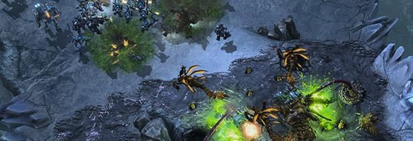"""StarCraft 2: Heart of the Swarm с """"тренировочной зоной"""" для новичков"""